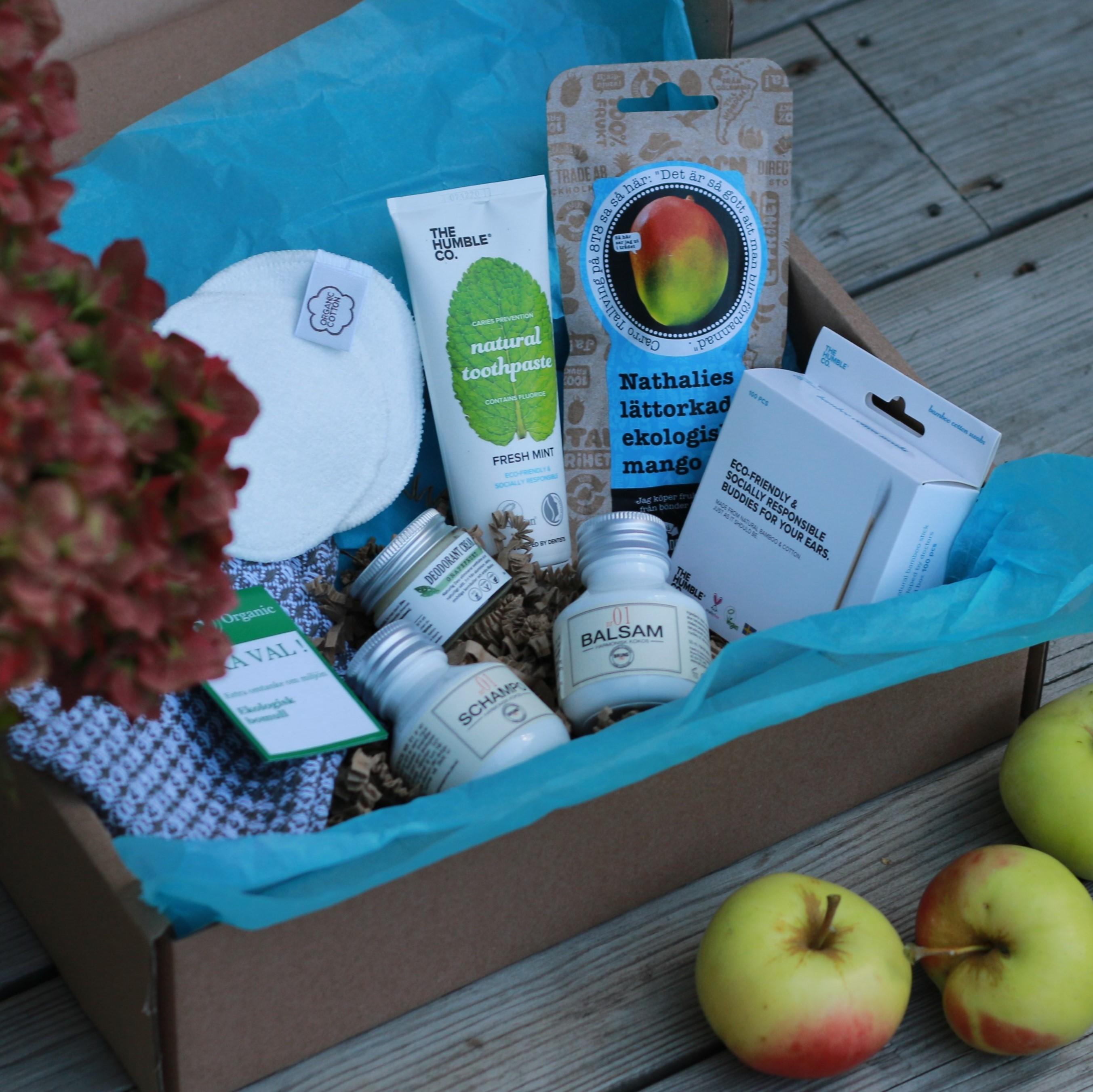 Helenas Hållbara box för kroppen